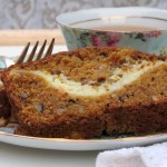Pumpkin Bread with Orange Cream Cheese Filling