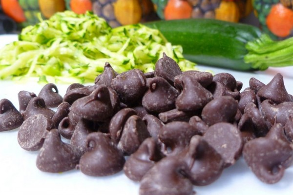 Grated Zucchini and Chocolate Chips