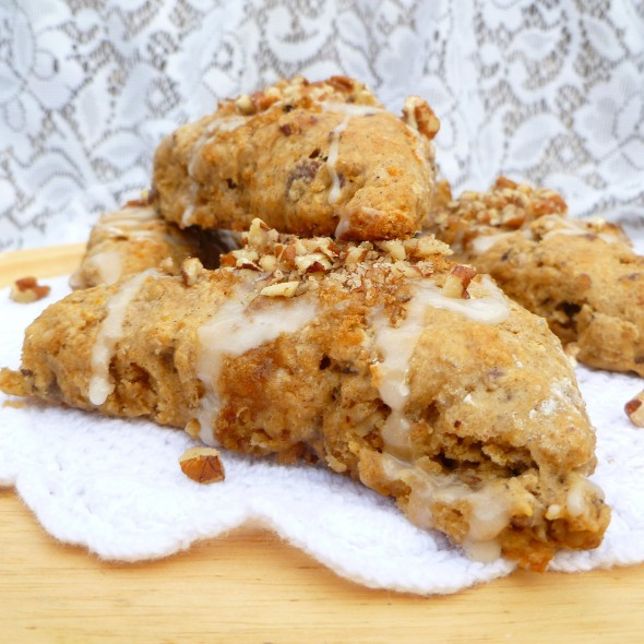 Sweet Potato Pecan Scones