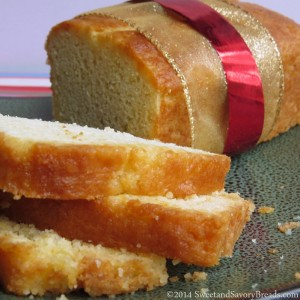 Orange Pineapple Bread Loaves