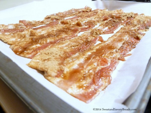Brown Sugar Covering Bacon