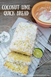 Coconut Lime Quick Bread Pin