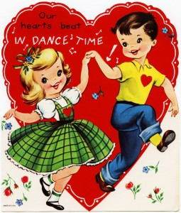 Retro Valentine Dance Time