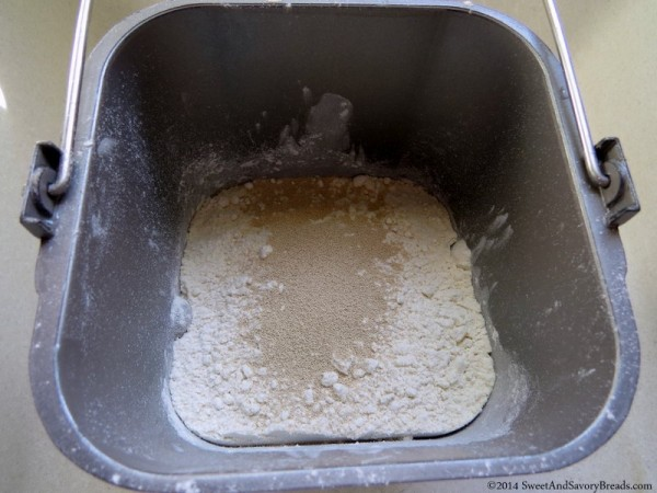 Dry Ingredients in Breadmaker