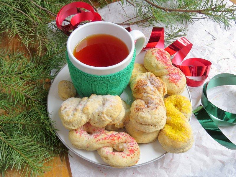 Christmas Breakfast Bows