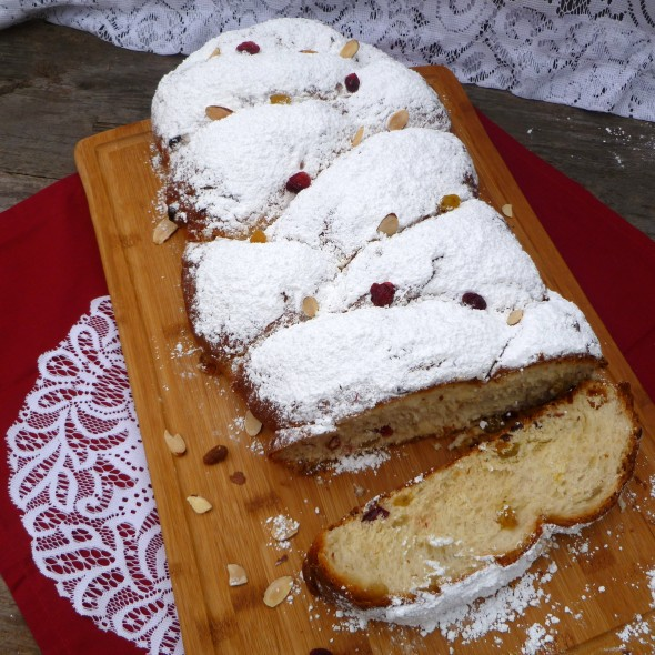 Christmas Stollen Bread