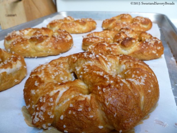 Soft Homemade Pretzels