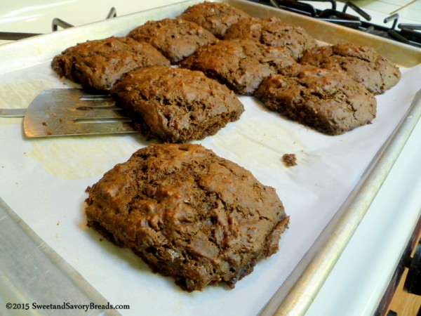 Double Chocolate Brownie Biscuits